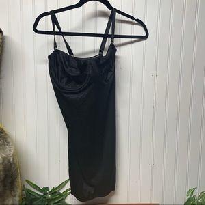 Delicates Shapewear Black Dress Size 38C